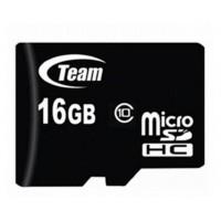 Карта памяти Team MicroSDHC 16GB Class 10 (TUSDH16GCL1002)